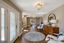 FOYER VIEW TO FORMAL LIVING ROOM - 13450 REED RD, THURMONT