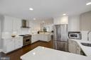 GOURMET KITCHEN WITH WOLFE AND KITCHEN AIDE - 13450 REED RD, THURMONT