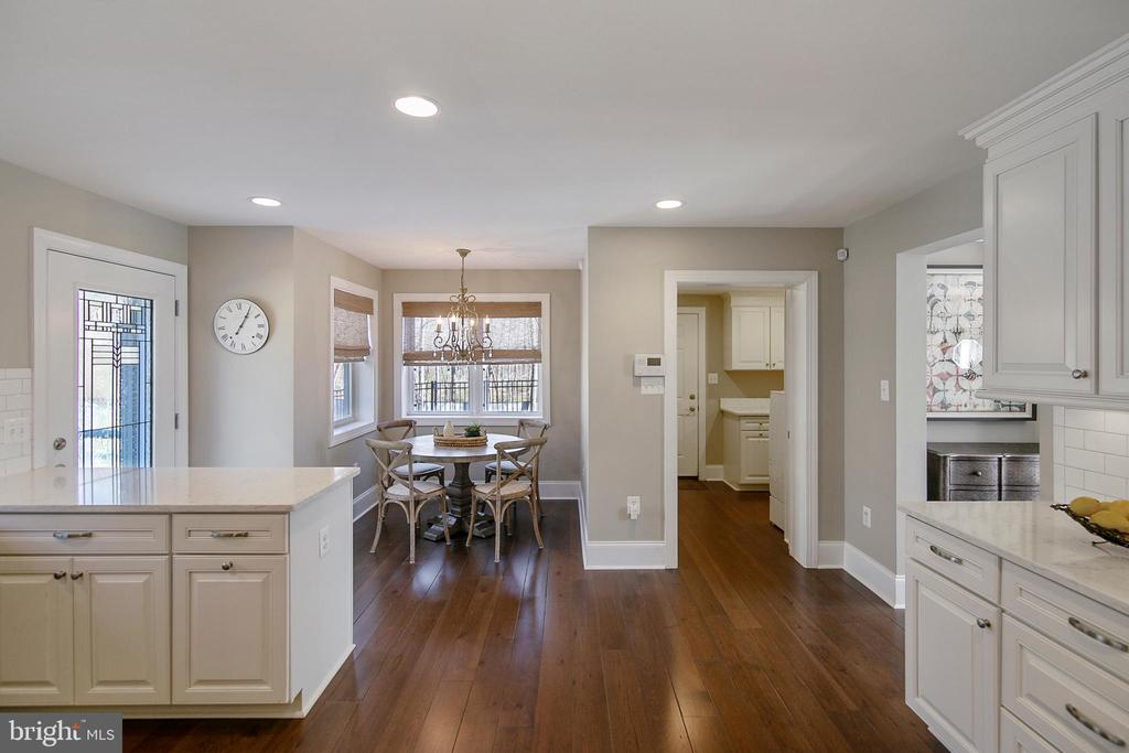 A KITCHEN VIEW - 13450 REED RD, THURMONT