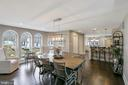 DINING TO KITCHEN - 13450 REED RD, THURMONT