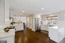 KITCHEN OVERVIEW TO DINING ROOM - 13450 REED RD, THURMONT