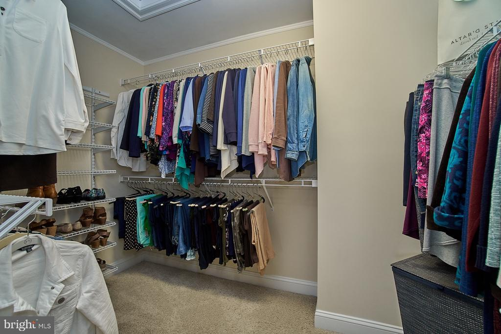 Large master bedroom walk-in closet - 20639 ERSKINE TER, ASHBURN