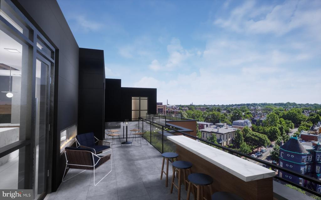 The views will not disappoint! - 610 T ST NW #801, WASHINGTON