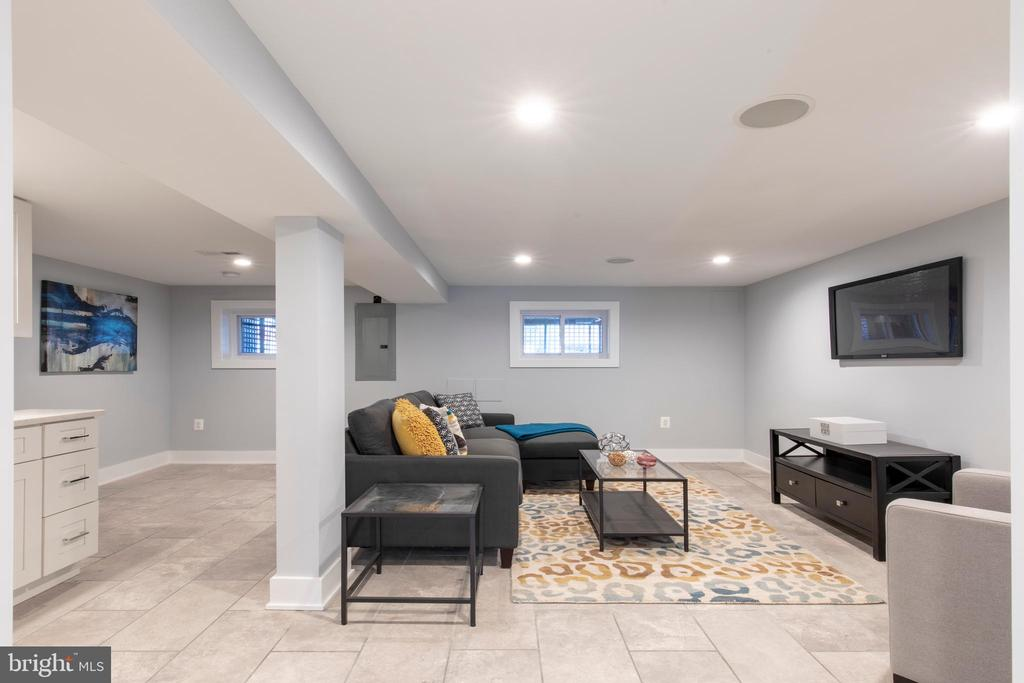 Basement Living Room - 4710 5TH ST NW, WASHINGTON