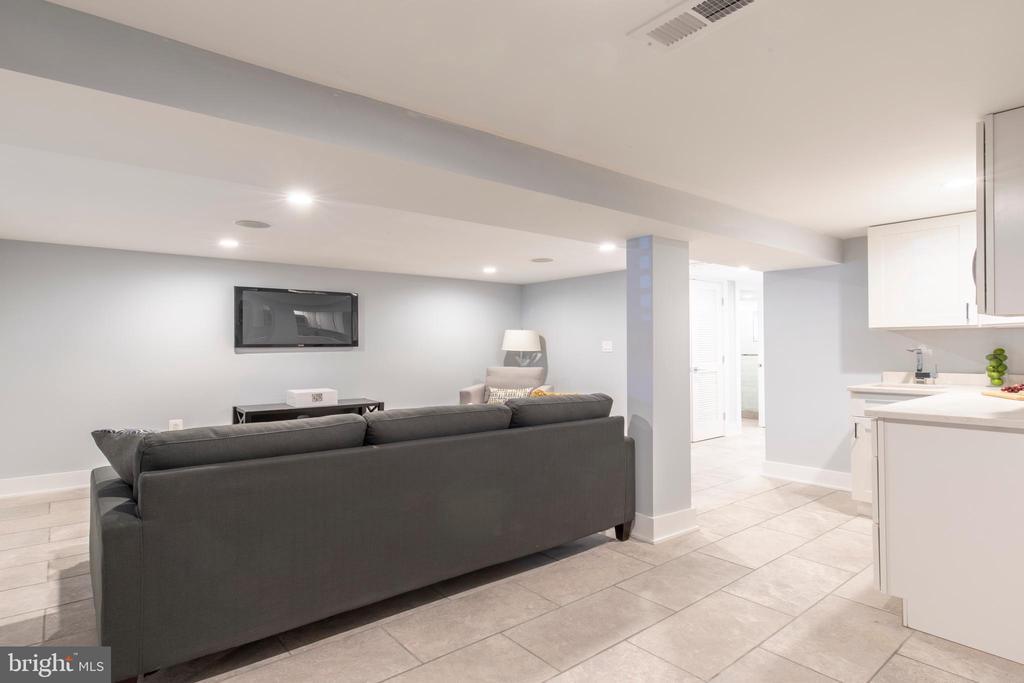 Basement Kitchen - 4710 5TH ST NW, WASHINGTON