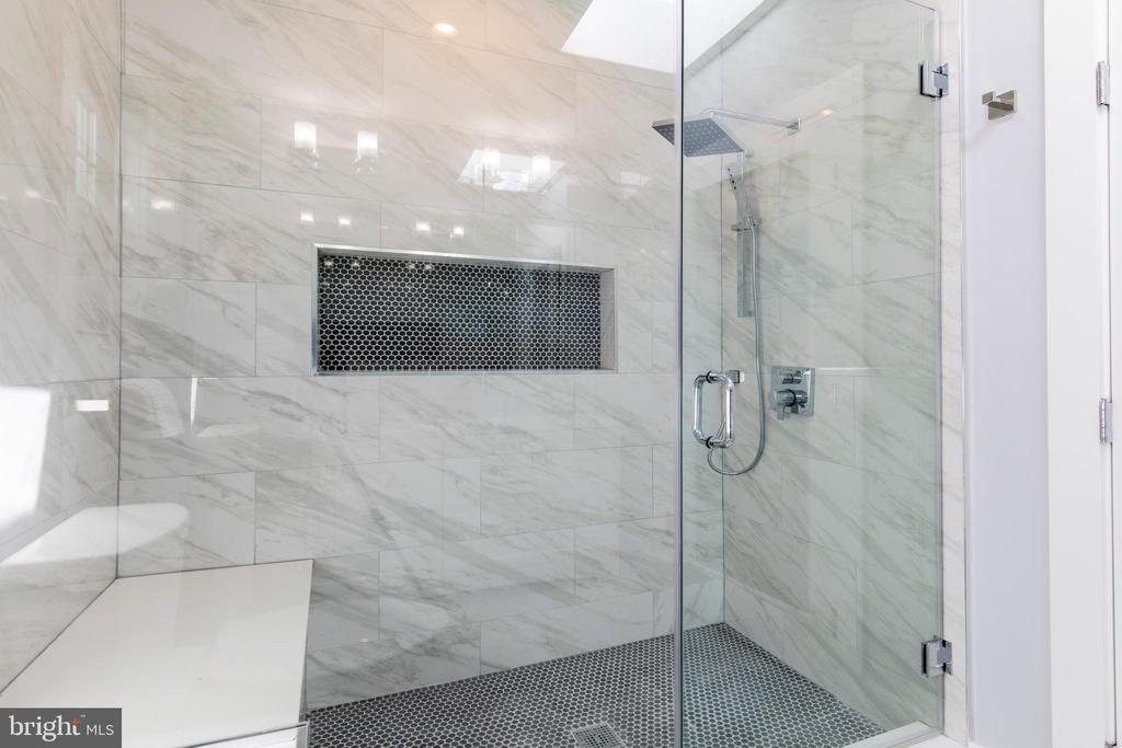 Master Bathroom - 4710 5TH ST NW, WASHINGTON