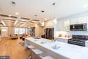 Kitchen - 4710 5TH ST NW, WASHINGTON