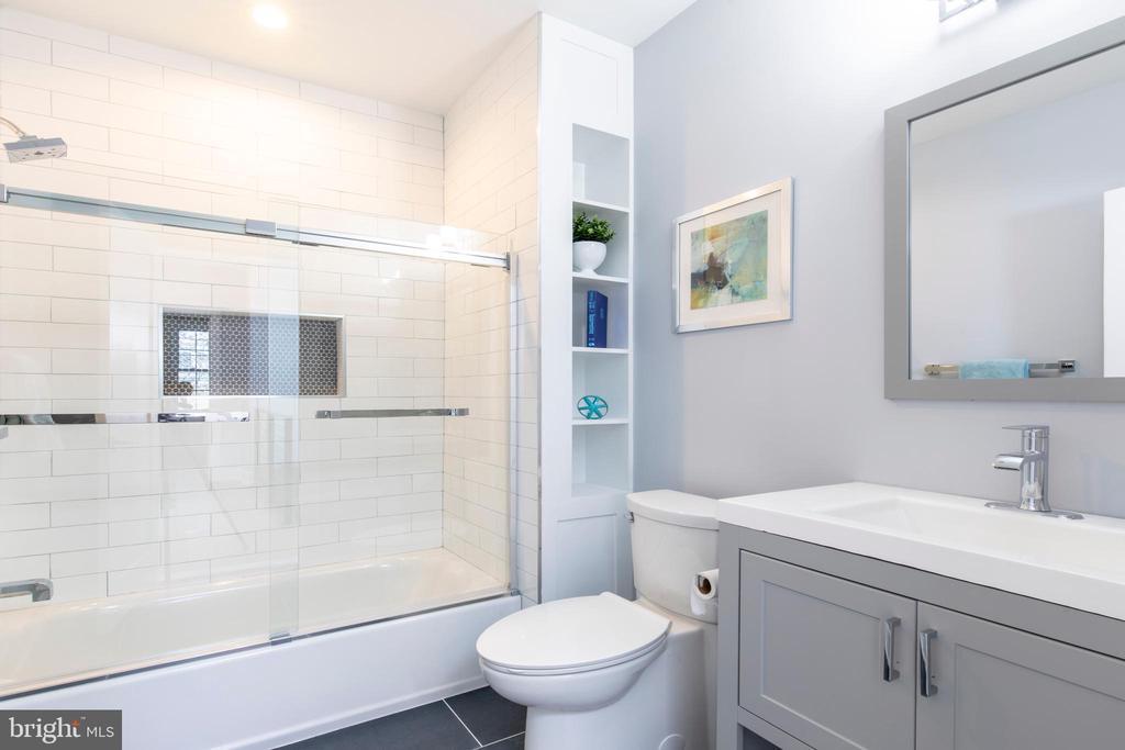 Upstairs Bathroom - 4710 5TH ST NW, WASHINGTON