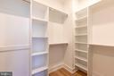Master Bedroom Closet - 4710 5TH ST NW, WASHINGTON