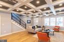 Living Room - 4710 5TH ST NW, WASHINGTON