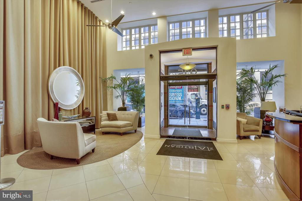 Welcoming Lobby - 915 E ST NW #705, WASHINGTON