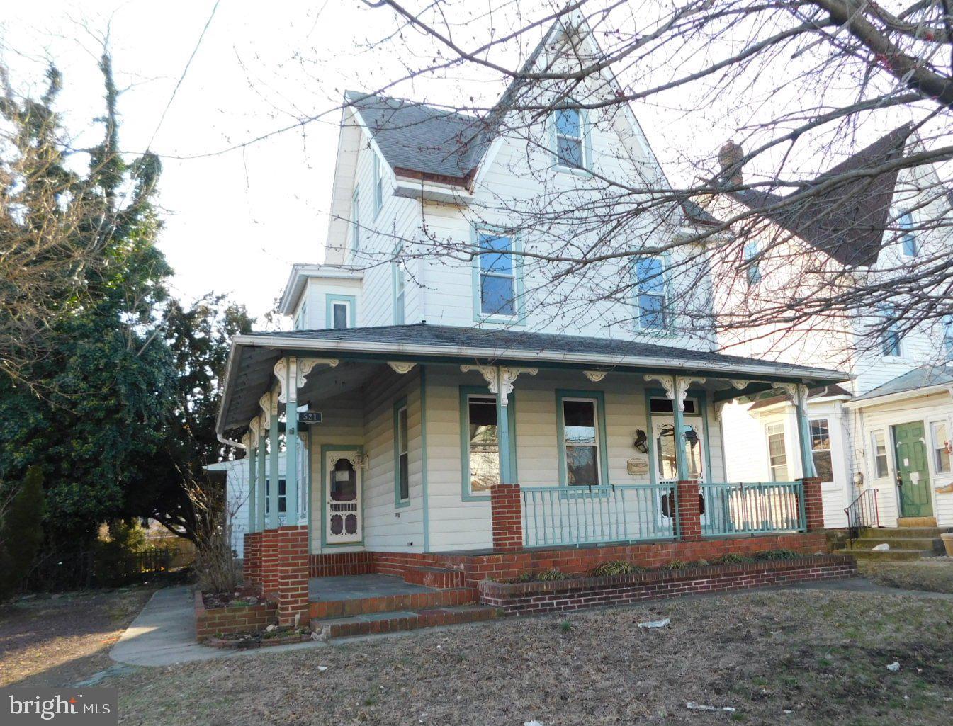 Maison unifamiliale pour l Vente à 521 LECONEY Avenue Palmyra, New Jersey 08065 États-Unis