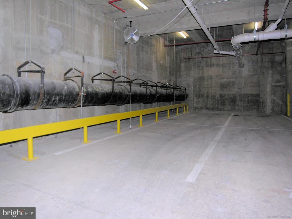 Parking Space - lots of clearance near elevators - 915 E ST NW #705, WASHINGTON