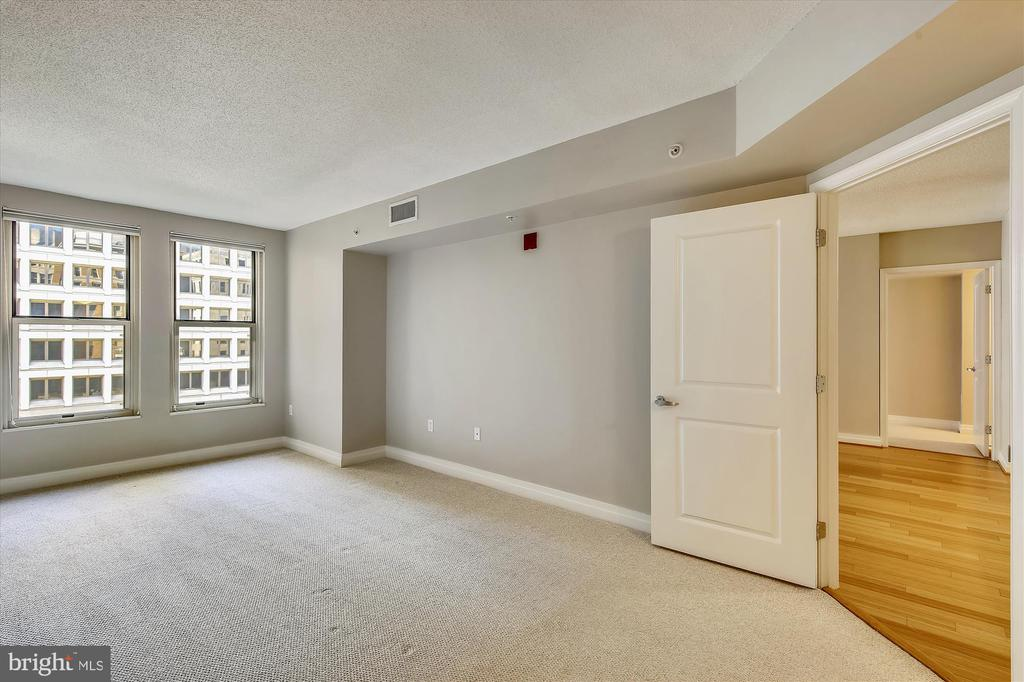 Bedrooms on Either Side of Living/Dining - 915 E ST NW #705, WASHINGTON