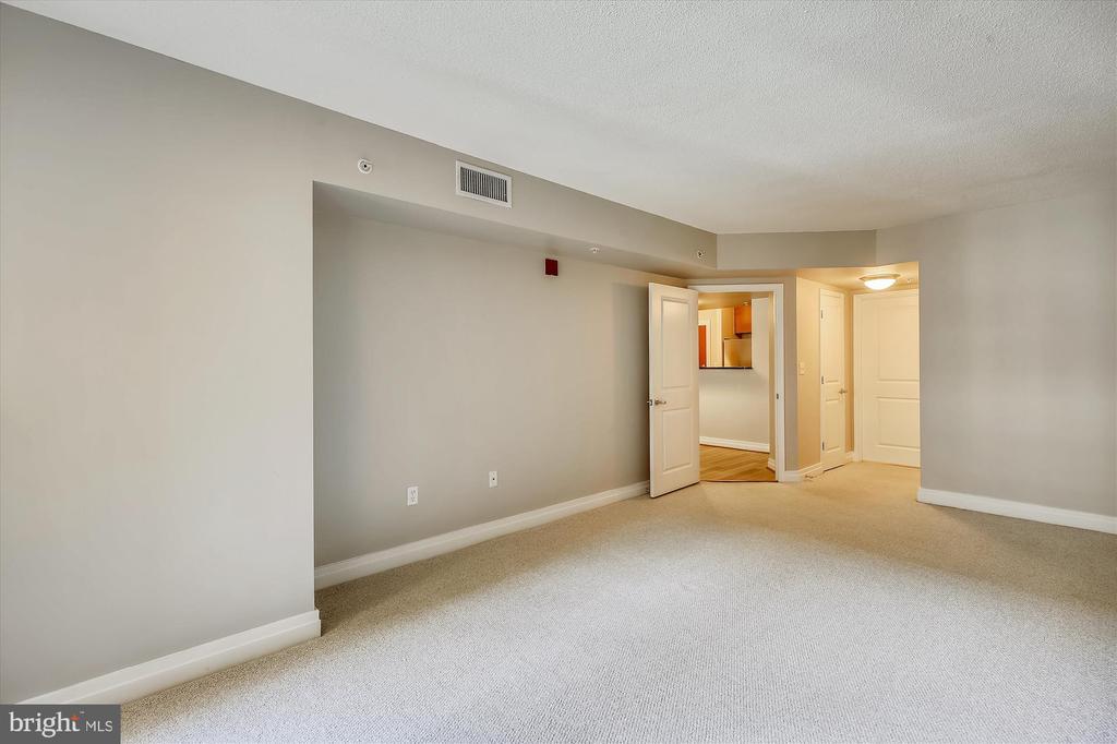 Toe Friendly Carpet in Bedrooms - 915 E ST NW #705, WASHINGTON