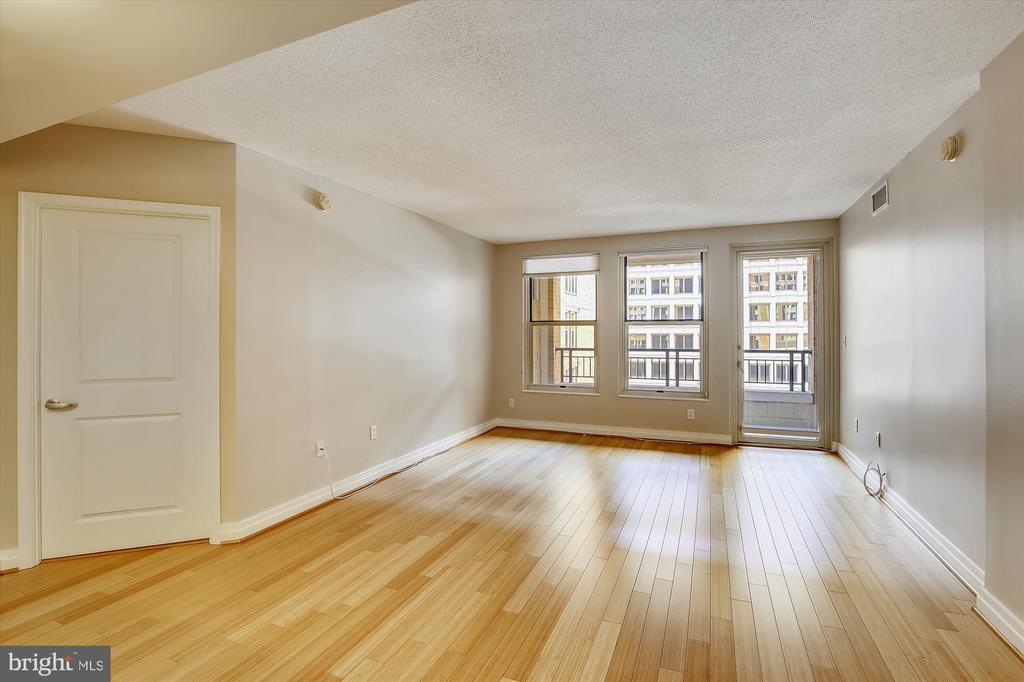 Tall Windows  to Long Balcony - 915 E ST NW #705, WASHINGTON