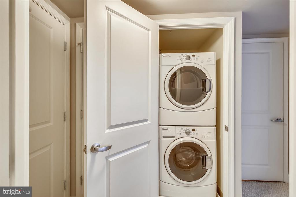 In-Unit Full Size Washer and Dryer - 915 E ST NW #705, WASHINGTON