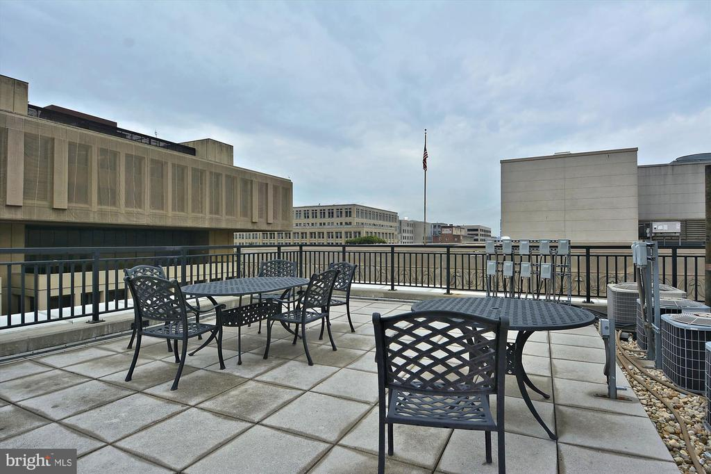 Rooftop Terrace with Grills - 915 E ST NW #705, WASHINGTON