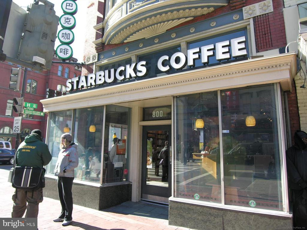 One of many local cafes/restaurants - 915 E ST NW #705, WASHINGTON