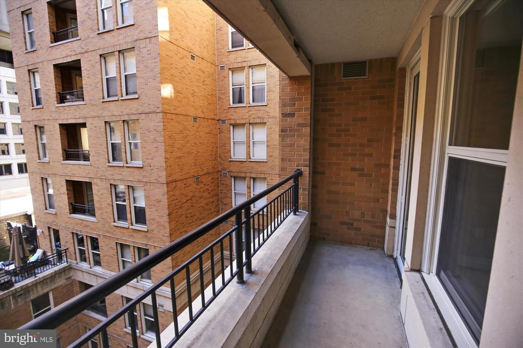 Balcony - 915 E ST NW #705, WASHINGTON