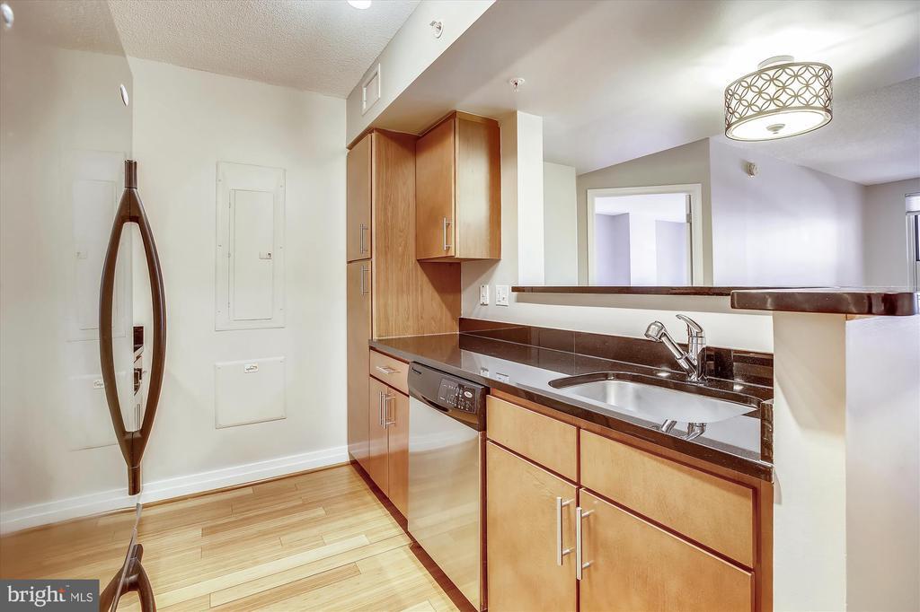 Kitchen Open to Dining - 915 E ST NW #705, WASHINGTON