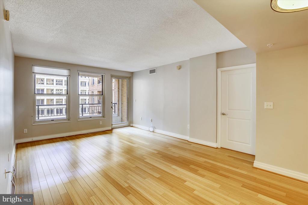 Spacious Living Room - 915 E ST NW #705, WASHINGTON