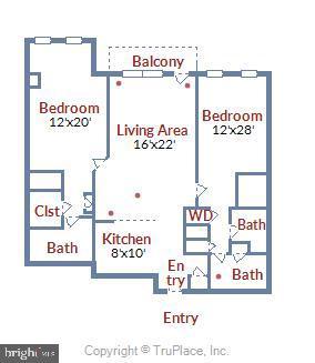 Elegant floor Plan - 915 E ST NW #705, WASHINGTON