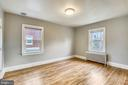 2nd floor bedroom with a ton of space. - 4314 13TH PL NE, WASHINGTON