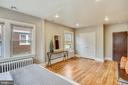 Master bedroom w/ wide closets, seating area. - 4314 13TH PL NE, WASHINGTON