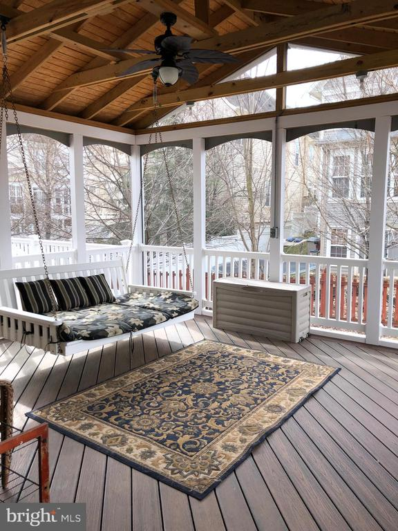 Covered Porch - 22767 SWEET ANDREA DR, BRAMBLETON