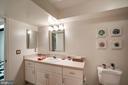 Lower level bath - 1466 WATERFRONT RD, RESTON