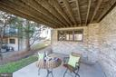 Lower level patio - 1466 WATERFRONT RD, RESTON