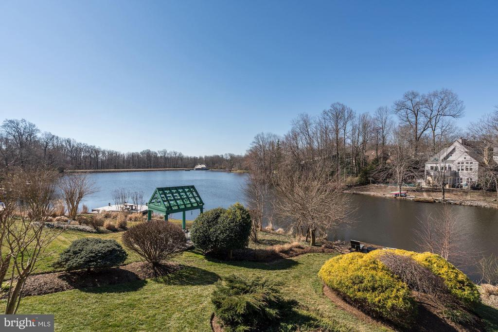 This is view from the kitchen table - 1466 WATERFRONT RD, RESTON