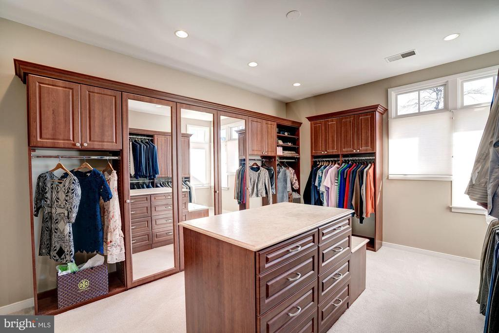 More of the master closet built ins - 1466 WATERFRONT RD, RESTON