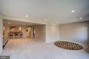 Lower level with walk out - 1466 WATERFRONT RD, RESTON