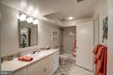 3rd bath on lower level - 1466 WATERFRONT RD, RESTON