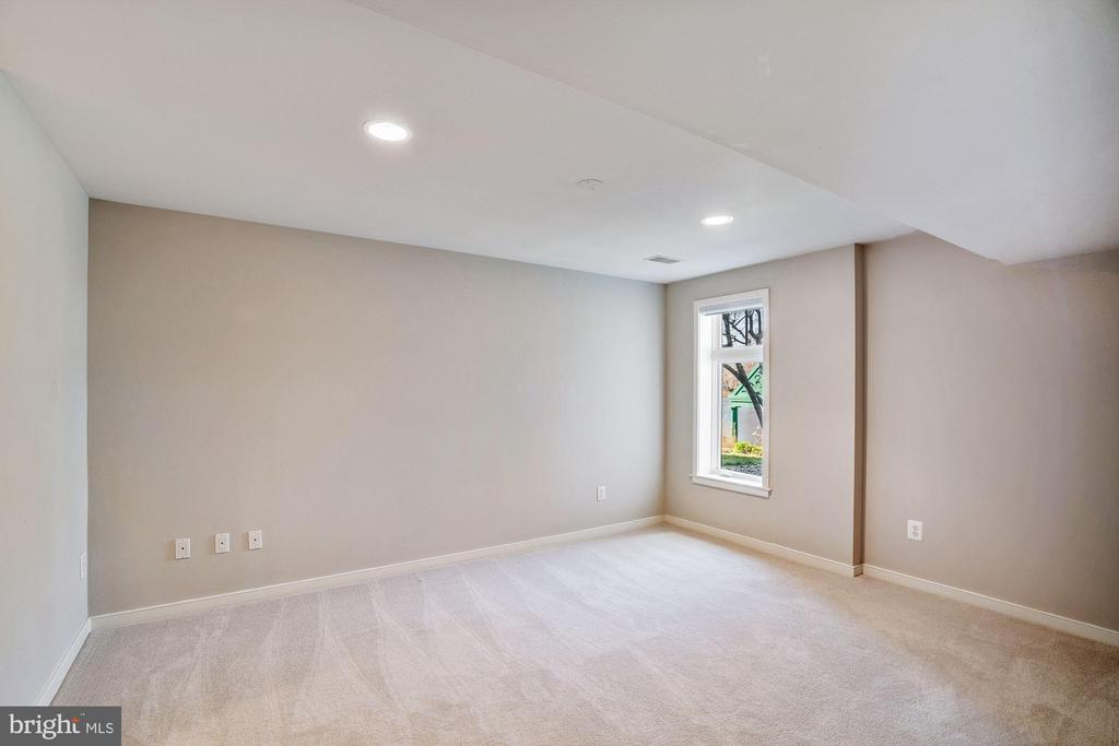 Lower level bedroom - 1466 WATERFRONT RD, RESTON