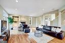 Open living area - 1466 WATERFRONT RD, RESTON
