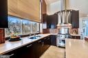 more of kitchen with great views of lake - 1466 WATERFRONT RD, RESTON