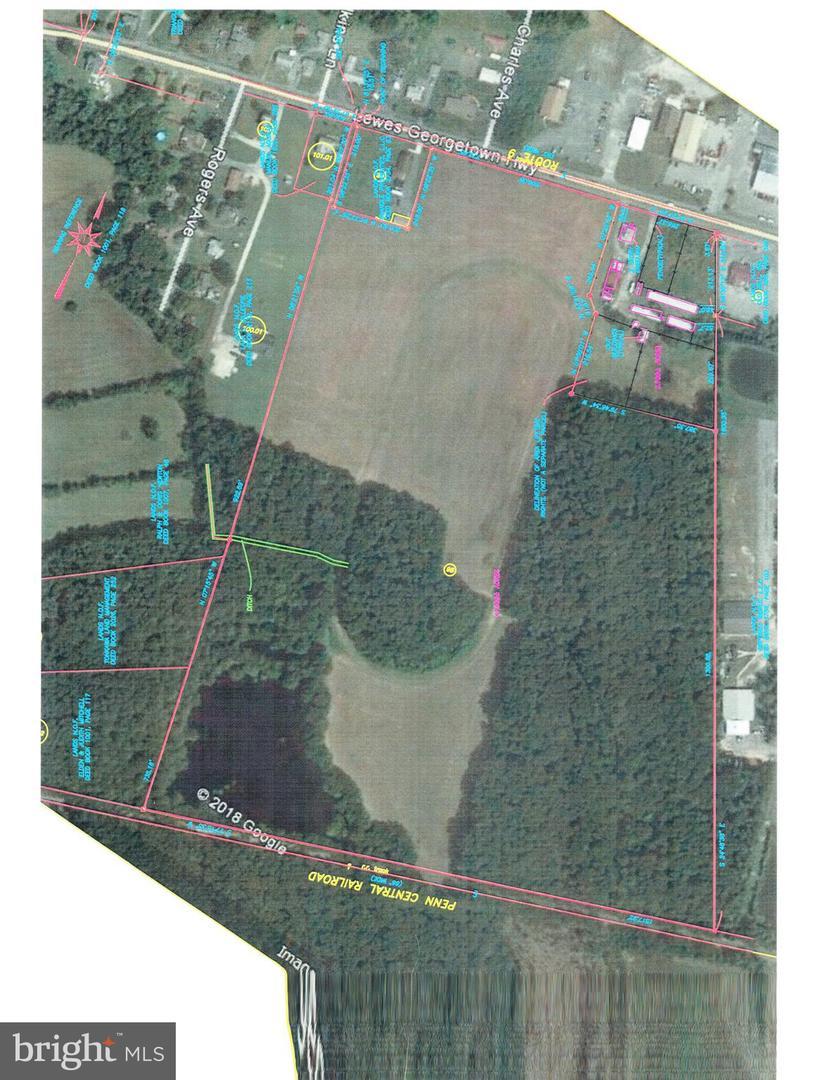 أراضي للـ Sale في Georgetown, Delaware 19947 United States