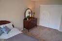 Large closet in bedroom - 4917 AMERICANA DR #E, ANNANDALE