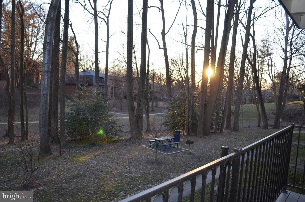 Watch the sunset from your balcony! - 4917 AMERICANA DR #E, ANNANDALE