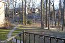 View from balcony - 4917 AMERICANA DR #E, ANNANDALE
