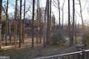 Balcony view - 4917 AMERICANA DR #E, ANNANDALE