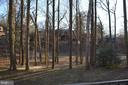 Wooded back yard common area - 4917 AMERICANA DR #E, ANNANDALE