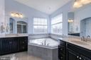Gorgeous Spa Bathroom with separate vanities! - 21 TANKARD RD, STAFFORD
