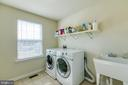 Large ustairs laundry - 21 TANKARD RD, STAFFORD