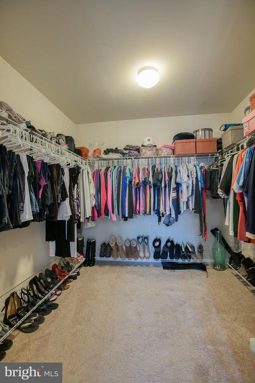 Huge Walk-in Closet - 21 TANKARD RD, STAFFORD