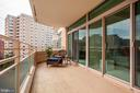 Outdoor Living - 5610 WISCONSIN AVE #804, CHEVY CHASE