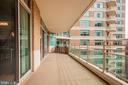 Expansive Entertaining Terrace - 5610 WISCONSIN AVE #804, CHEVY CHASE